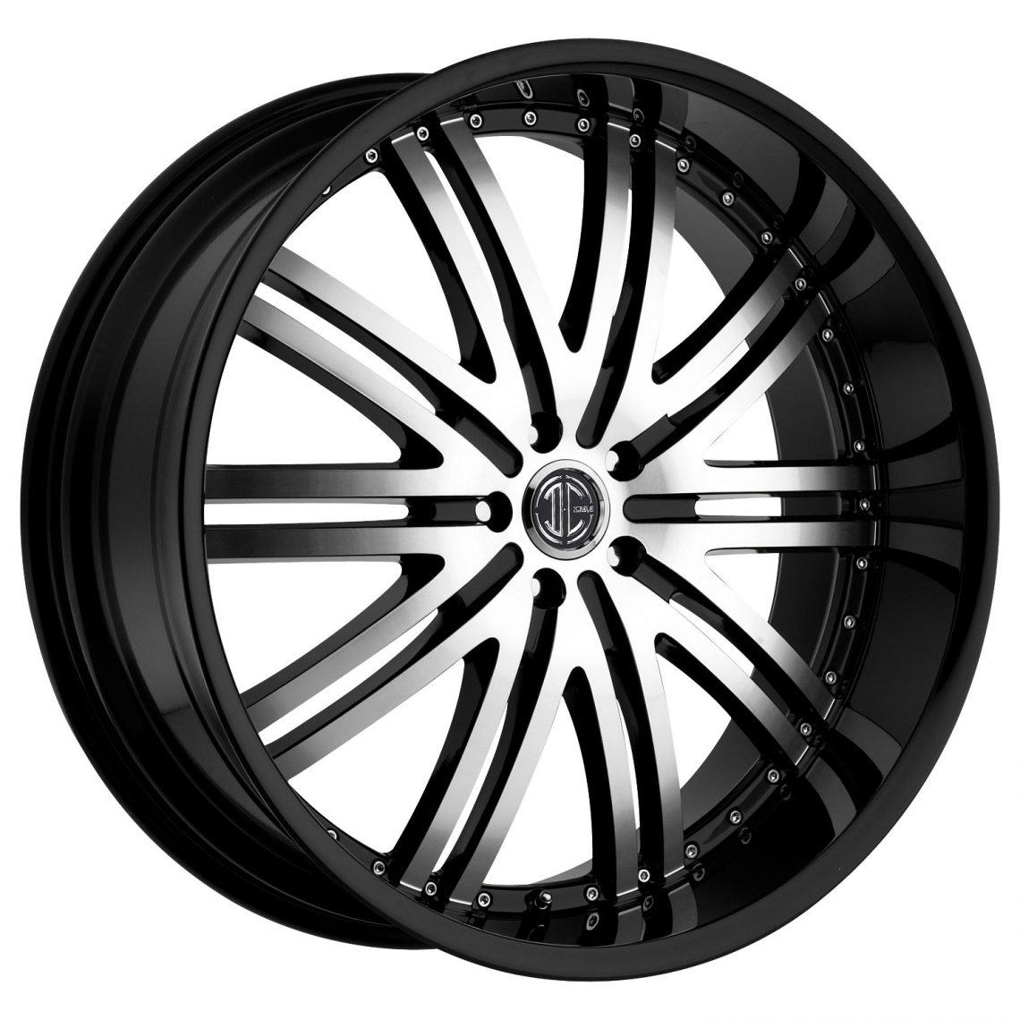 2Crave No.11 Glossy Black / Machined Face