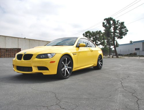 BMW M3 – SPECIAL EDITION YELLOW – ME7 GBMF